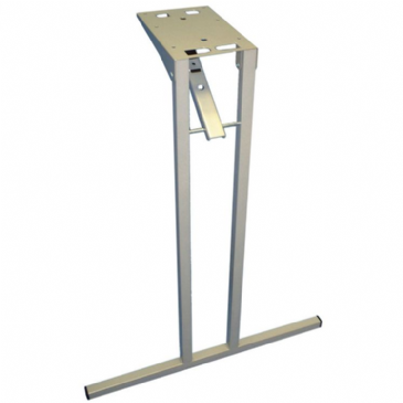 Square Tube Folding Table Leg - 650mm